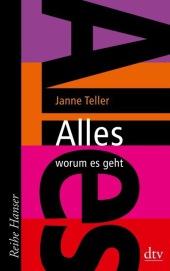 Janne Teller Alles worum es geht